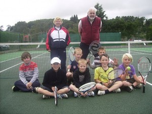 Junior Tennis at Austwick